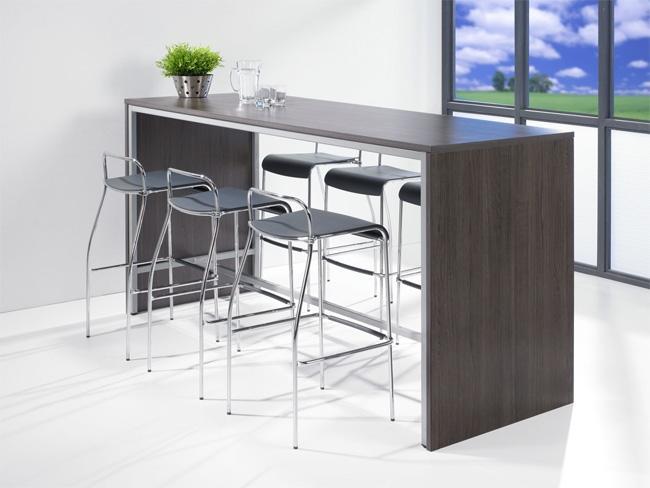 ooth_r220 table de bar - 220x80cm & hauteur 110cm - burodepo