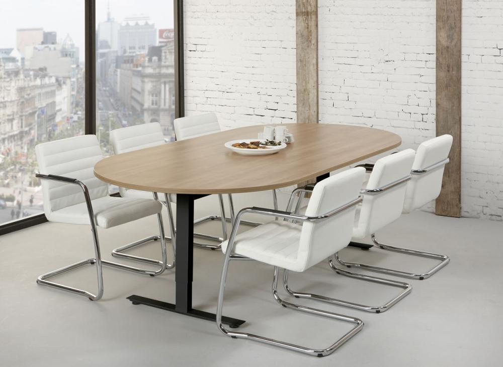tc240 table de r union ovale tendenz 240x120cm burodepo meubles et mobilier de bureau neufs et. Black Bedroom Furniture Sets. Home Design Ideas