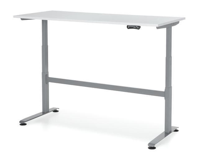 bef168 bureau assis debout avec lectrification 160x80cm burodepo meubles et mobilier de. Black Bedroom Furniture Sets. Home Design Ideas