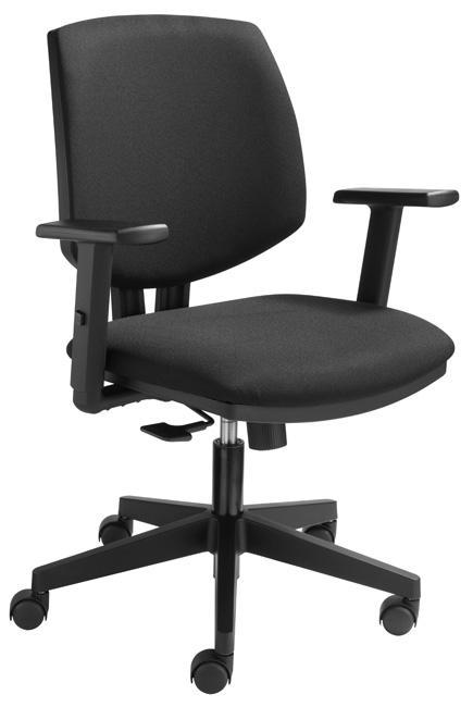 8419sz si ge de bureau mod le 8419 tissu noir burodepo meubles et mobilier de bureau neufs et. Black Bedroom Furniture Sets. Home Design Ideas