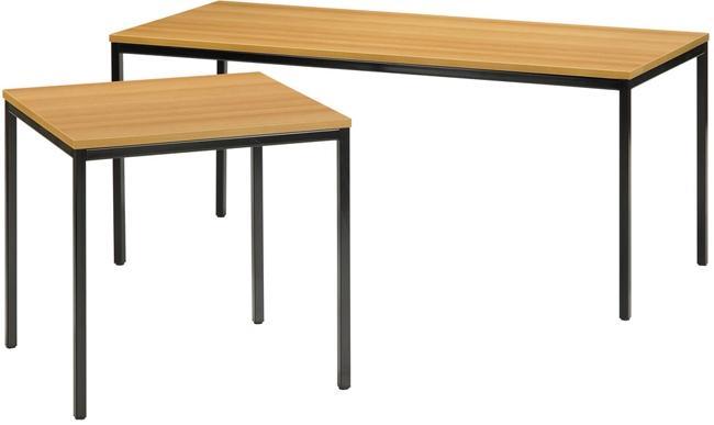 oota bet60 table droite 80x60cm burodepo meubles et mobilier de bureau neufs et occasions. Black Bedroom Furniture Sets. Home Design Ideas