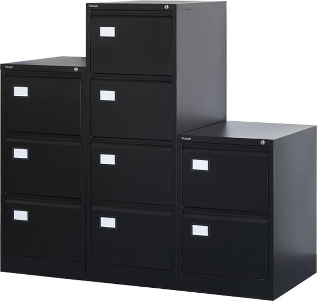 ber4 classeur pour dossiers suspendus 4 tiroirs. Black Bedroom Furniture Sets. Home Design Ideas