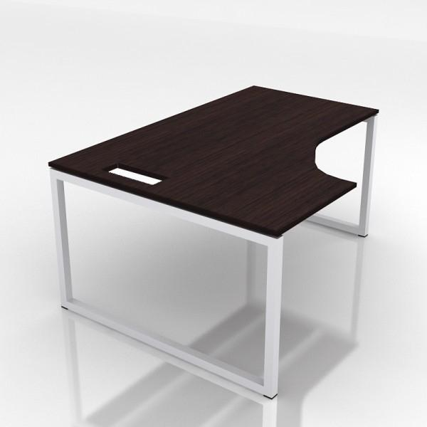 Nanovao lc182 bureau compact nova gauche 180x120cm for Meuble bureau compact