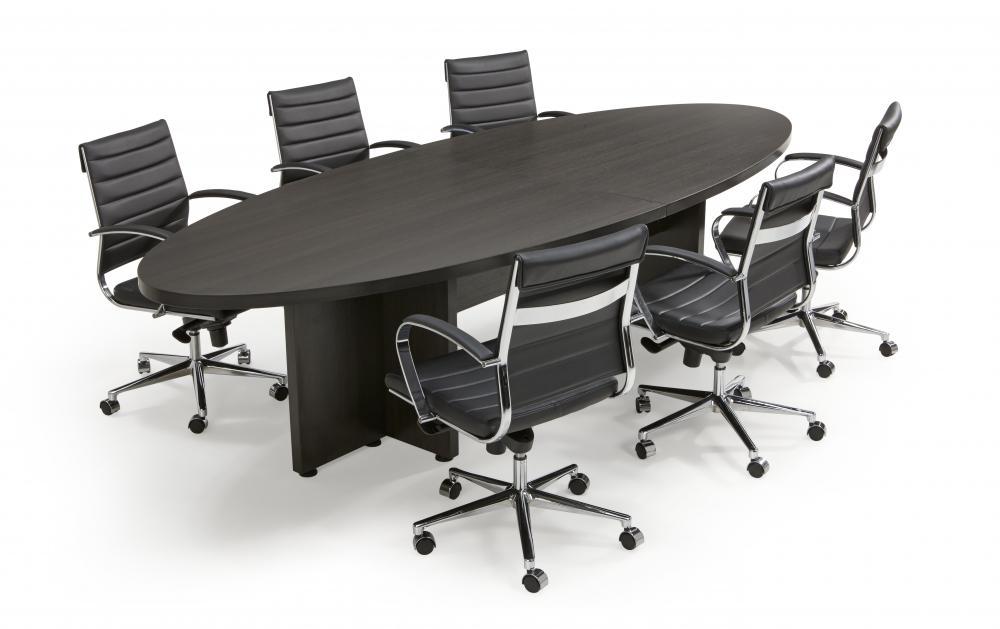 ootdc be3212e table de conf rence ellipse 320x120cm burodepo meubles et mobilier de bureau. Black Bedroom Furniture Sets. Home Design Ideas