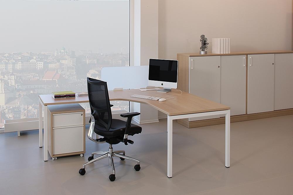 Nanovao lc182 bureau compact nova gauche 180x120cm for Bureau compact