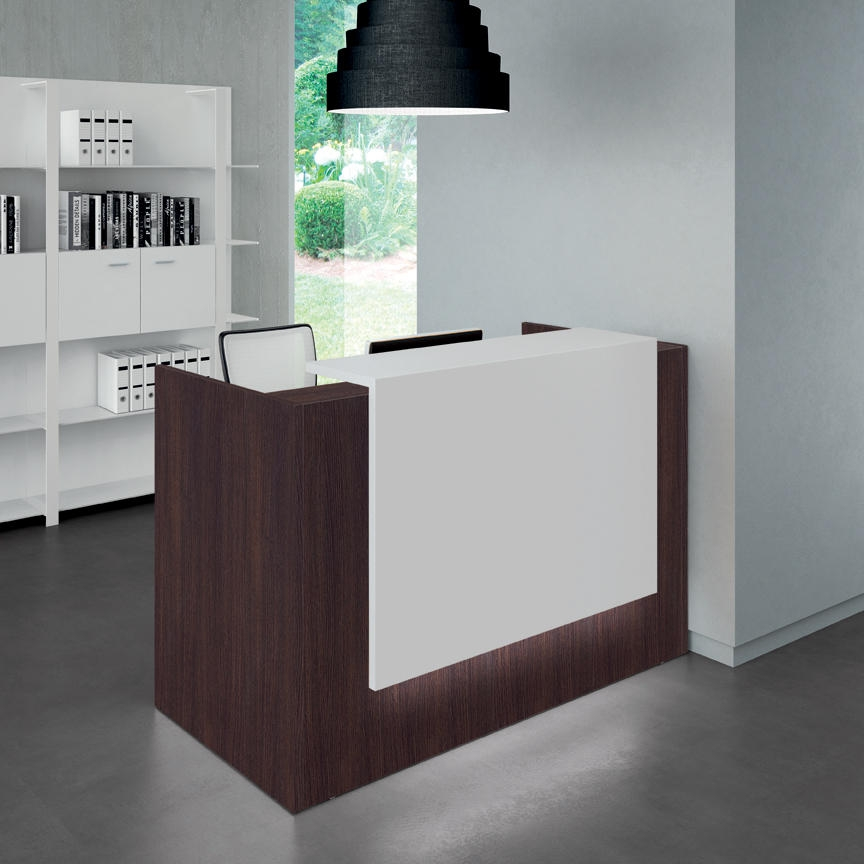 quadricor zeta146 comptoir r ception zeta l146xp88xh113cm burodepo meubles et mobilier de. Black Bedroom Furniture Sets. Home Design Ideas