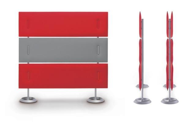 cacl mitesco6 cloisons 6 sur pied mitesco by caimi burodepo meubles et mobilier de bureau. Black Bedroom Furniture Sets. Home Design Ideas