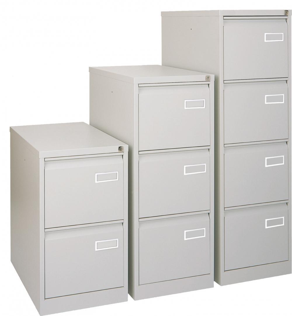 Cl4d classeur 4 tiroirs pour dossiers susendus bisley for Meuble bureau 4 tiroirs